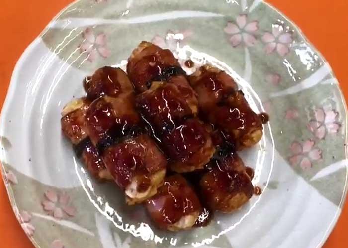 「ピリ辛!食感がクセになる里芋ベーコン」の作り方画像 6枚目