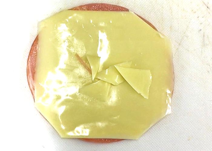 「冷めても美味しい! とろ~りチーズハムカツ」の作り方画像 1枚目