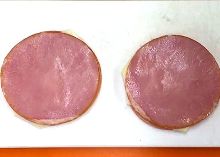 「冷めても美味しい! とろ~りチーズハムカツ」の作り方画像 2枚目