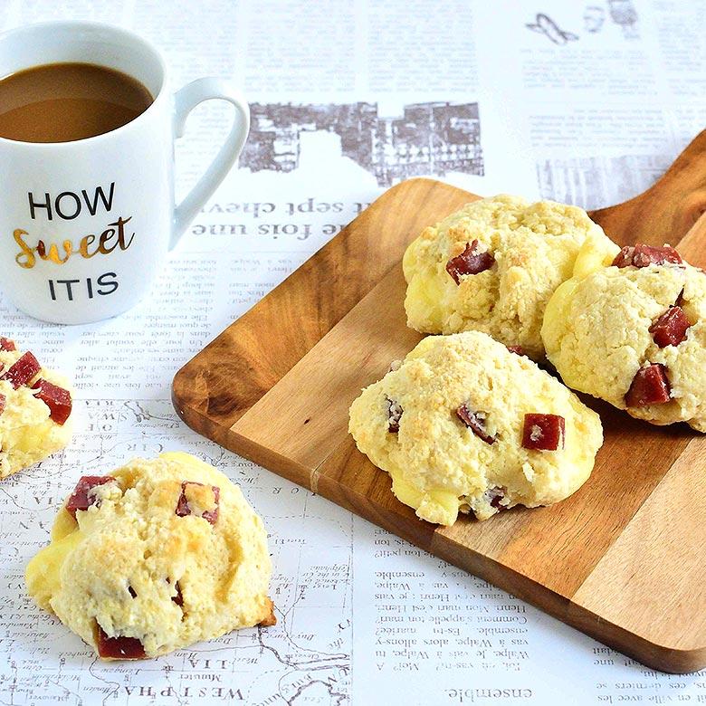 簡単なのにおしゃれなカフェみたい! カルパススコーン☆の写真