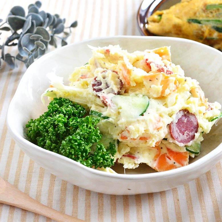 カルパスで作る! 歯ごたえが美味しいポテトサラダ!の写真