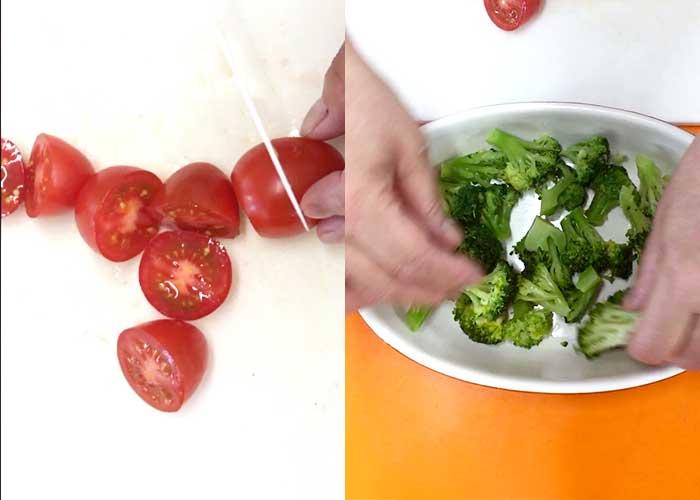 「レンジで簡単!鶏とブロッコリーのチーズ焼き」の作り方画像 3枚目