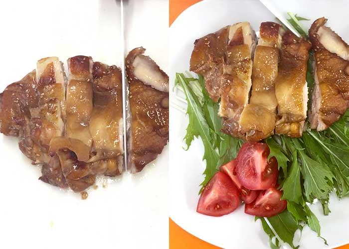 「オーブンにおまかせ!失敗知らずの鶏ももてり焼き」の作り方画像 4枚目