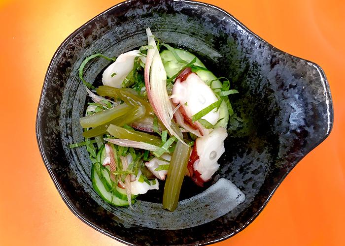 「茎めかぶの食感が楽しい、タコときゅうりの和え物」の作り方画像 3枚目