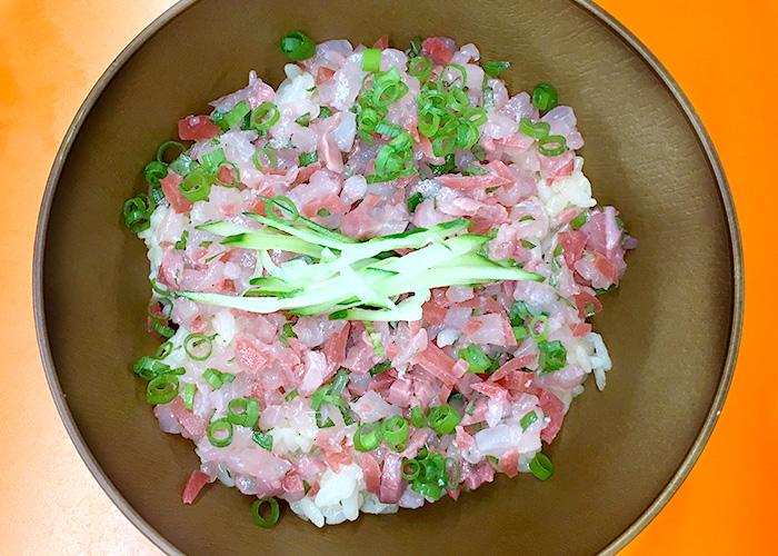 「カリカリ梅のさっぱりカンパチ丼」の作り方画像 5枚目