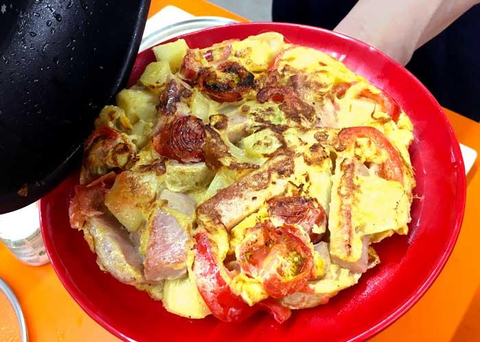 「ふわふわ卵の簡単スペインオムレツ♪」の作り方画像 7枚目