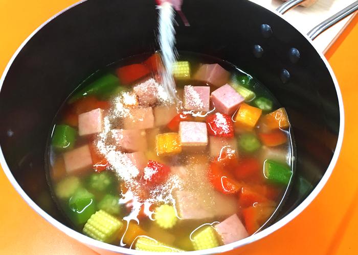 「色々な食感や味が楽しめるゼリー寄せ♪」の作り方画像 5枚目