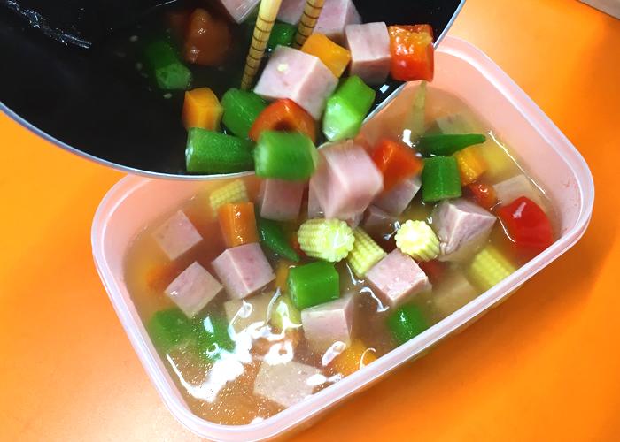 「色々な食感や味が楽しめるゼリー寄せ♪」の作り方画像 6枚目