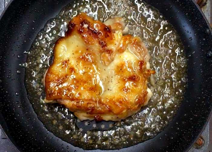 「ミツカン カンタン酢「和風だし」で作る、だしウマ!鶏の照焼き」の作り方画像 4枚目