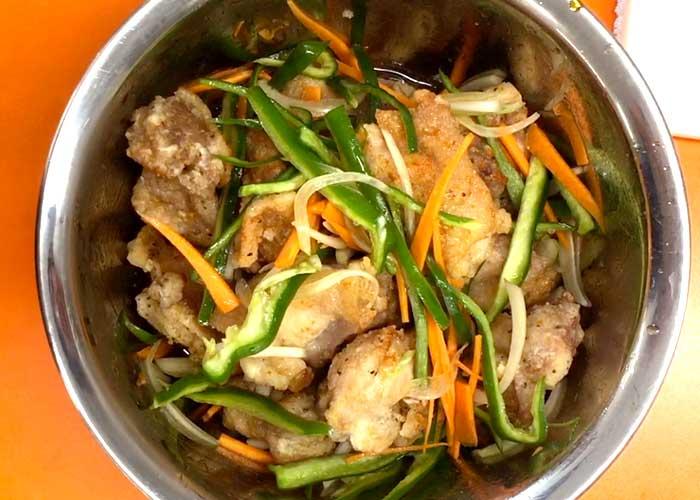 「ミツカン カンタン酢「和風だし」で、鶏もも肉の南蛮漬け」の作り方画像 5枚目