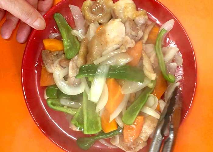 「ミツカン カンタン酢「和風だし」で作る、野菜たっぷり鶏もも炒め」の作り方画像 5枚目