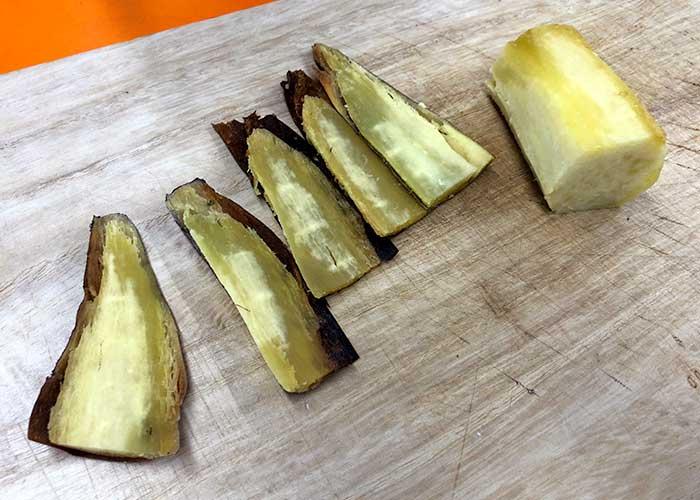 「とってもなめらか!焼き芋のプリンアラモード」の作り方画像 1枚目