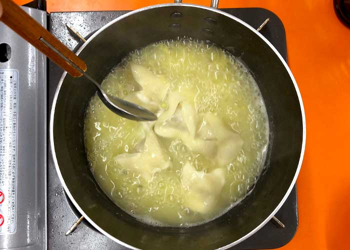 「あったかほっこり♪焼き芋のぜんざい」の作り方画像 5枚目