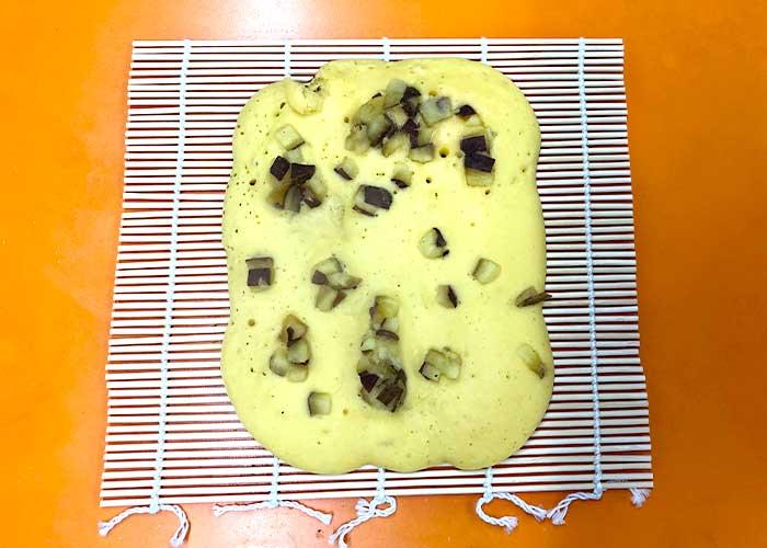 「焼き芋の伊達巻風芋菓子」の作り方画像 7枚目