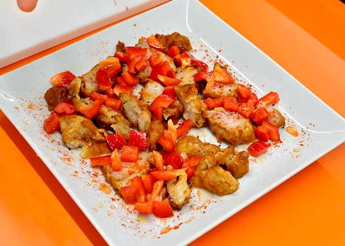 「お惣菜唐揚げでアレンジ!「唐揚げと赤パプリカのマリネ」」の作り方画像 4枚目