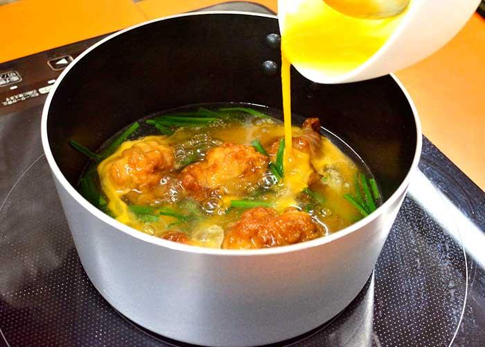「お惣菜唐揚げでアレンジ!「びっくり美味しい!唐揚げの卵スープ」」の作り方画像 4枚目