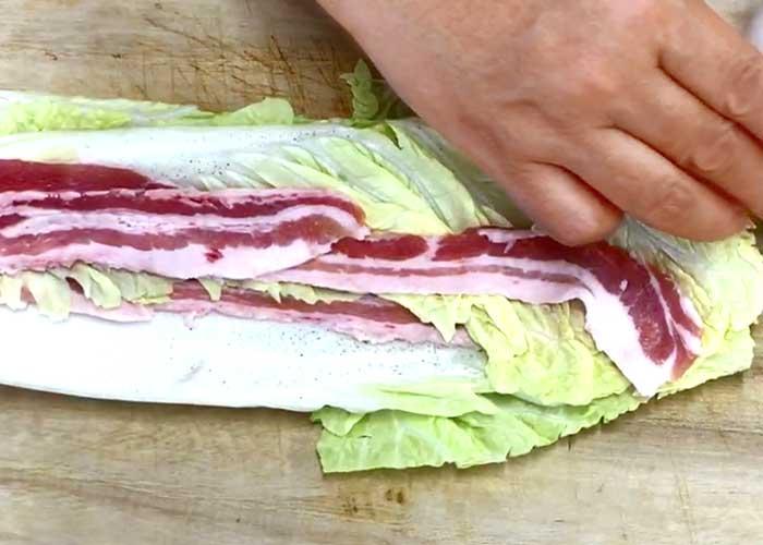 「あっさり美味い!白菜と豚バラのミルフィーユ鍋」の作り方画像 2枚目