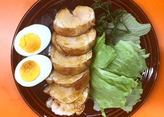 「じゅわっとうまい!柔らか鶏むね肉のチャーシュー」の作り方画像 6枚目