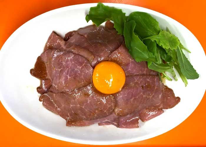 「とろ~り卵が絡まる!ローストビーフ丼」の作り方画像 3枚目