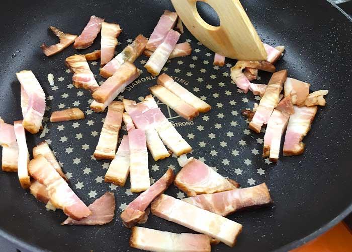 「絶品!!燻りベーコンのポテトサラダ」の作り方画像 3枚目