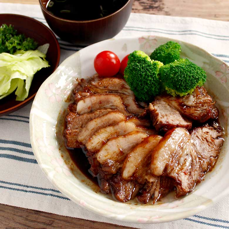 炊飯器でつくるトロトロ焼き豚の写真