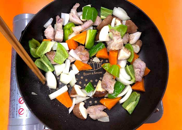 「爽やかな酸味が決め手!もずくの酢豚」の作り方画像 3枚目