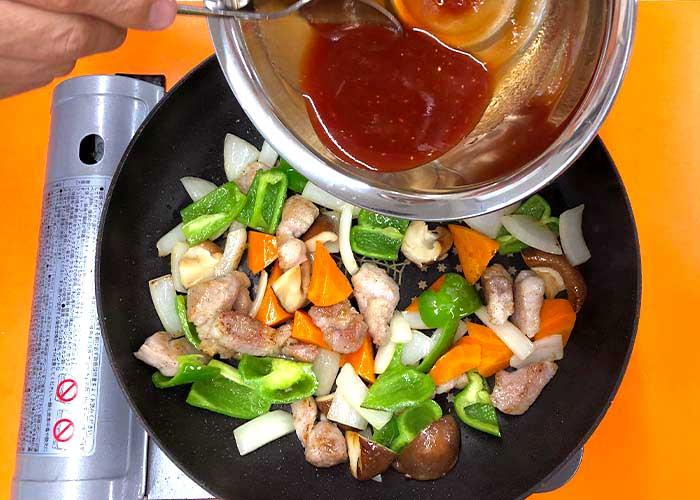「爽やかな酸味が決め手!もずくの酢豚」の作り方画像 4枚目