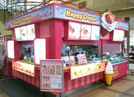ハッピークレープ  店舗イメージ