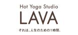 ホットヨガスタジオLAVA ロゴ