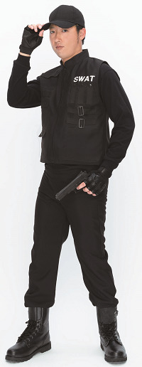 「PURE COSTUME SWAT」(クリアストーン)3,980円