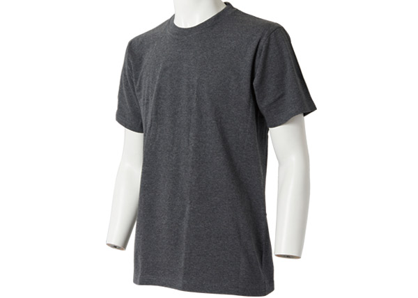 メンズ スペシャルコットン半袖シャツ(クルーネック)