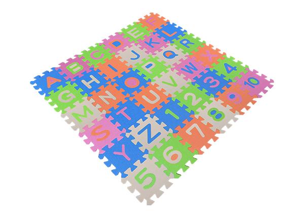 カラフルジョイントマット 36枚入(アルファベット&数字)