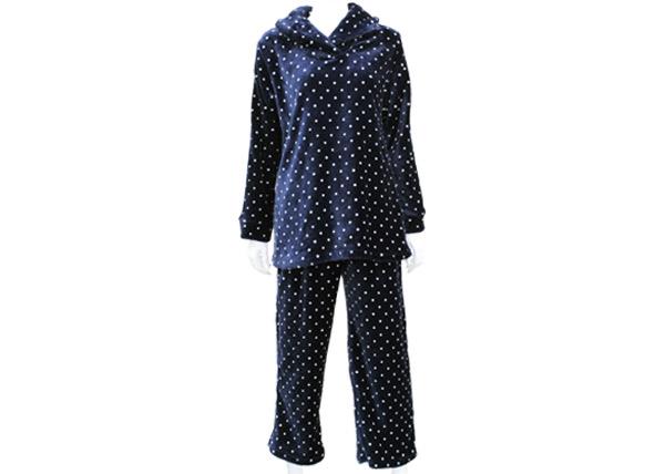 レディース ふわもこドット パジャマ