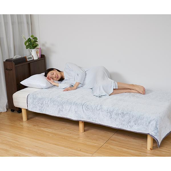 情熱価格PREMIUM 二枚合わせフランネル電気毛布 『至高のぬくもり』